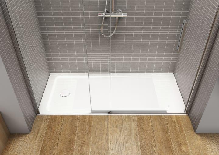 Base de duche acr lica extra plana com fundo anti for Puertas corredizas revit
