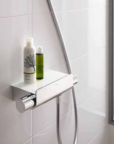 Torneira termostática T-2000 da Roca para duche