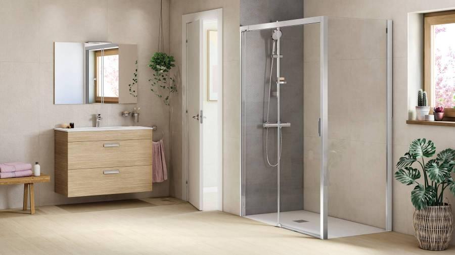 Renovação do espaço de banho com productos Roca