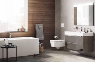 Renovação do espaço de banho com produtos da Roca