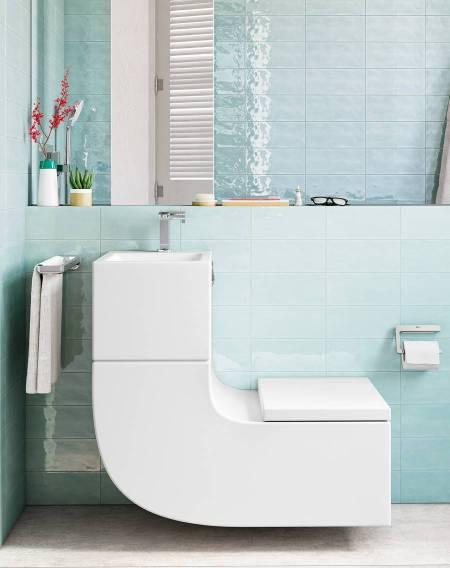 W+W, lavatório e sanita numa única peça