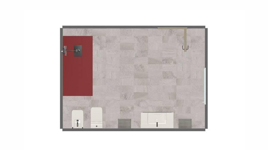 Configurador de espaços de banho 3R da Roca
