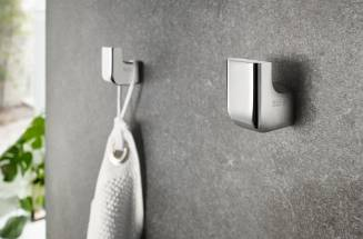 Bathroom accesories without drill, adhesive bathroom accesories