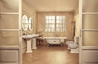 Espaços de banho rústicos ROCA