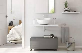 Segredos para renovar um espaço de banho com dois metros quadrados - ROCA