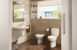 Como substituir um assento e uma tampa de sanita antigos da Roca